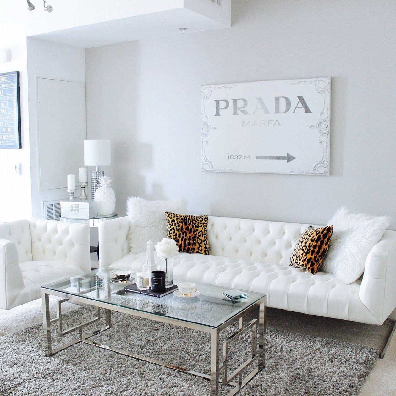 Instagram Diaries 004 Blondie In The City White Living Room Decor White Furniture Living Room Living Room White
