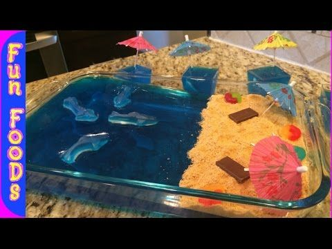 Shark Filled Jello | DIY Shark Infested Jello (Shark Week)