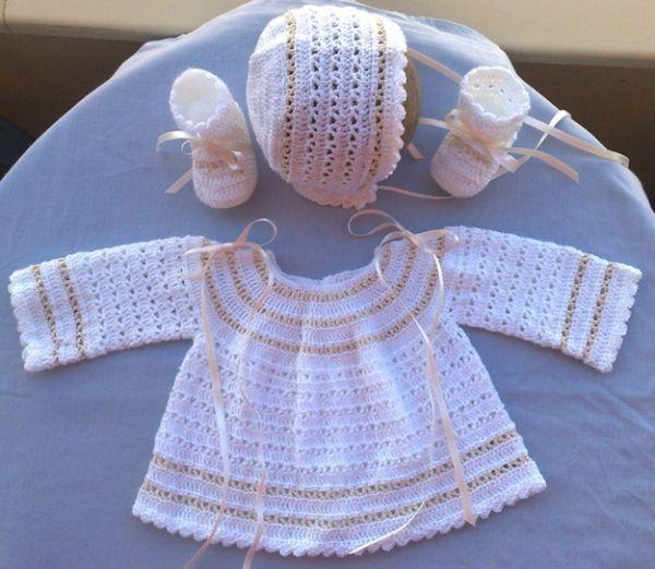 Ganchillo bebé: Patrones de ropita para los peques | BEBE ...