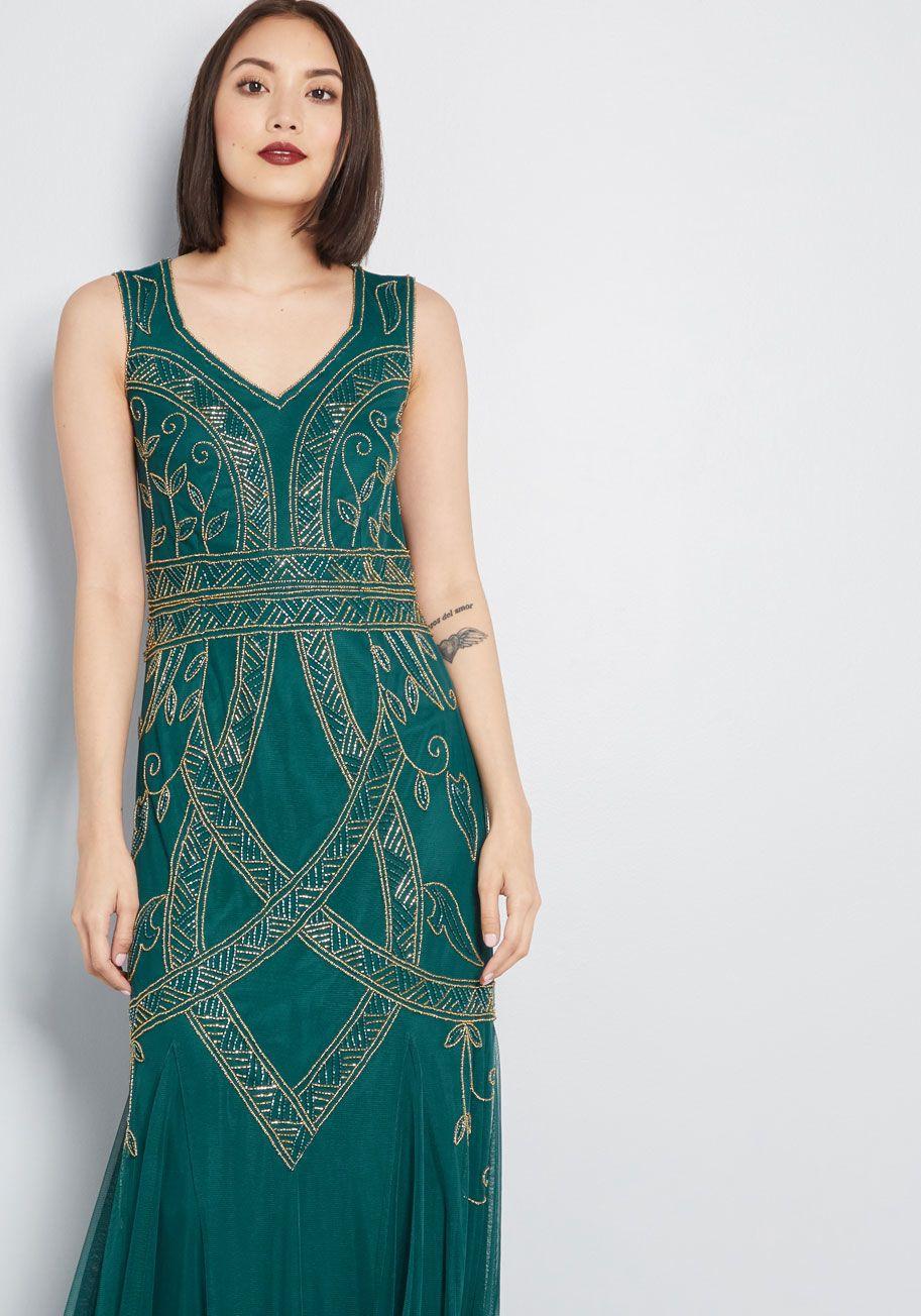 c51e63d5d07 Elegance Abounds Beaded Maxi Dress | Style Inspiration | Dresses ...