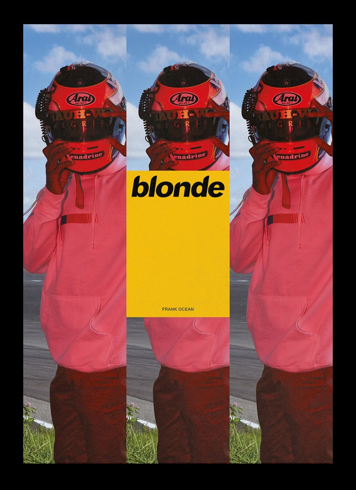 Frank Ocean Blonde Michel Egger Graphic Design For Frank