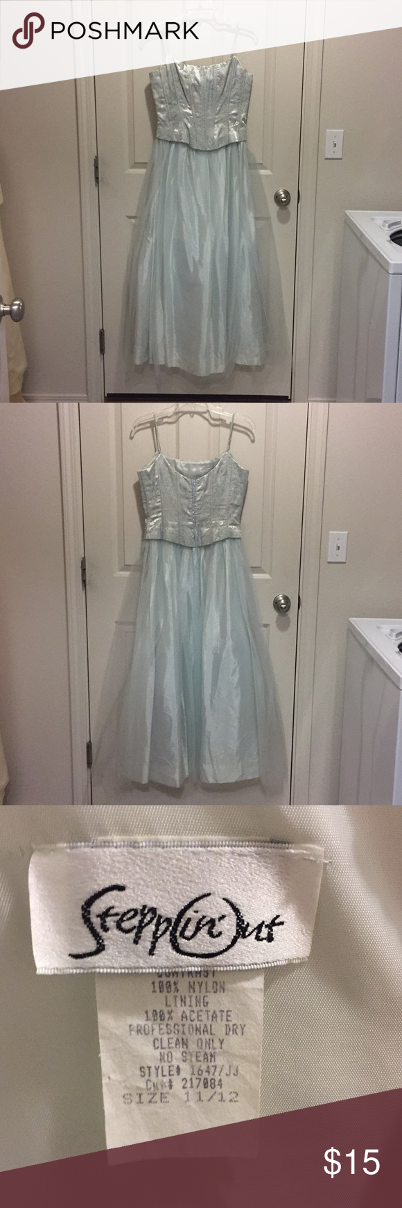 Formal Gown Vintage Worn Twice In 1999 Formal Gowns Gowns Vintage Wear [ 1740 x 580 Pixel ]