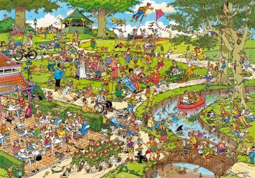 Jumbo Jan Van Haasteren The Park Puzzle (3000-Piece)