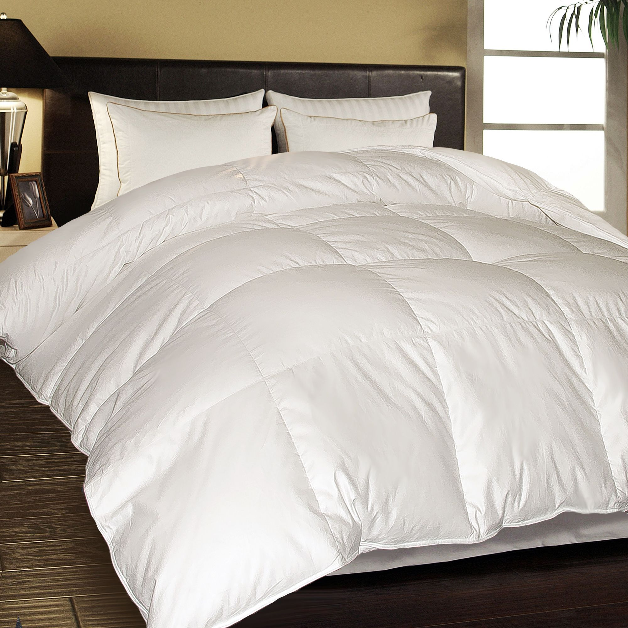 lightweight hungarian white product comforter bedding down free shipping james today home st overstock bath goose