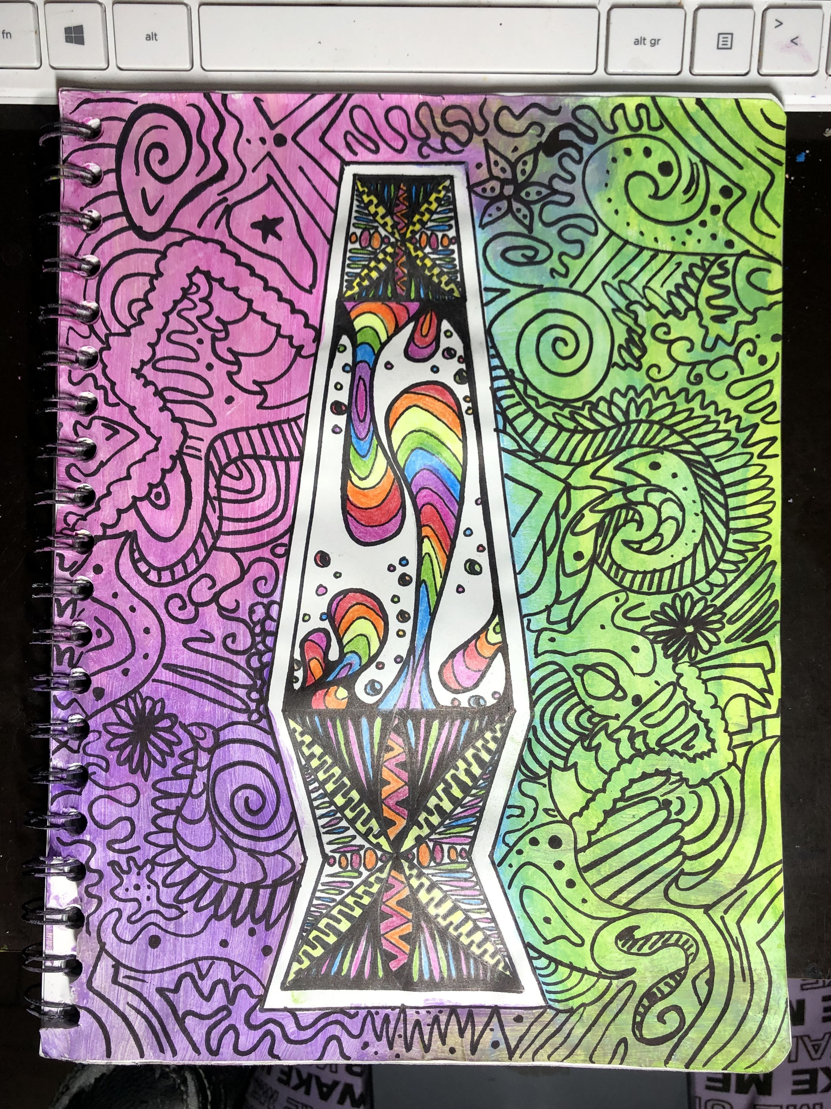 Trippy Lava Lamp Trippy Painting Trippy Drawings Trippy