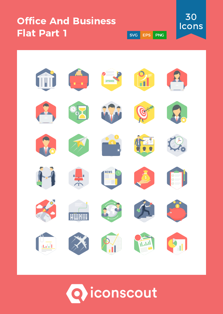 Download Download Office And Business Flat Part 1 Icon pack ...