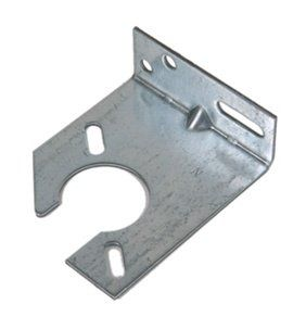 Notched Spring Anchor Bracket By N A 8 99 Notched Spring Anchor Bracket For Garage Door Applications Home Hardware Home Doors Building A House