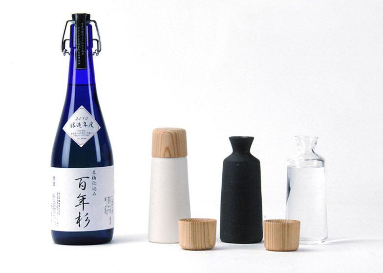 Sake dishes by Kazuya Koike