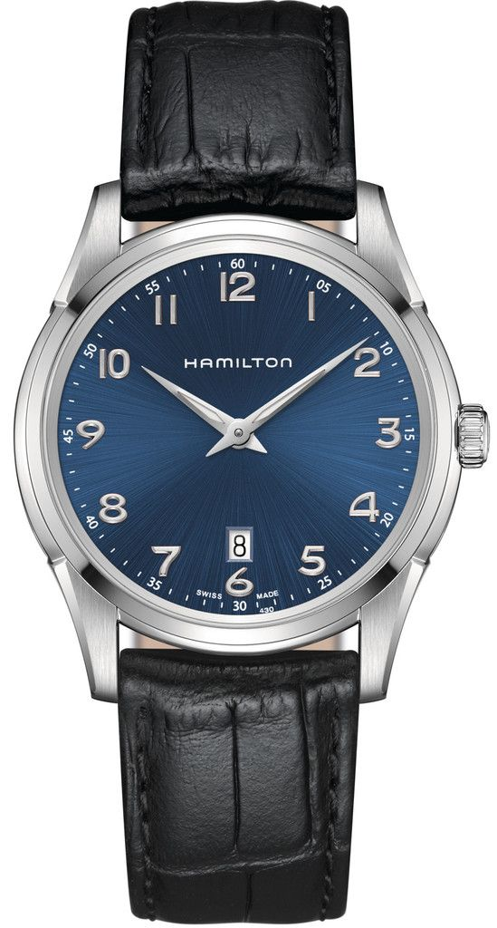Hamilton Watch American Classic Jazzmaster Thinline #basel-15 #bezel-fixed #bracelet-strap-leather #brand-hamilton #case-material-steel #case-width-42mm #delivery-timescale-call-us #dial-colour-blue #gender-mens #luxury #movement-quartz-battery #new-product-yes #official-stockist-for-hamilton-watches #packaging-hamilton-watch-packaging #subcat-american-classic-jazzmaster #supplier-model-no-h38511743 #warranty-hamilton-official-2-year-guarantee