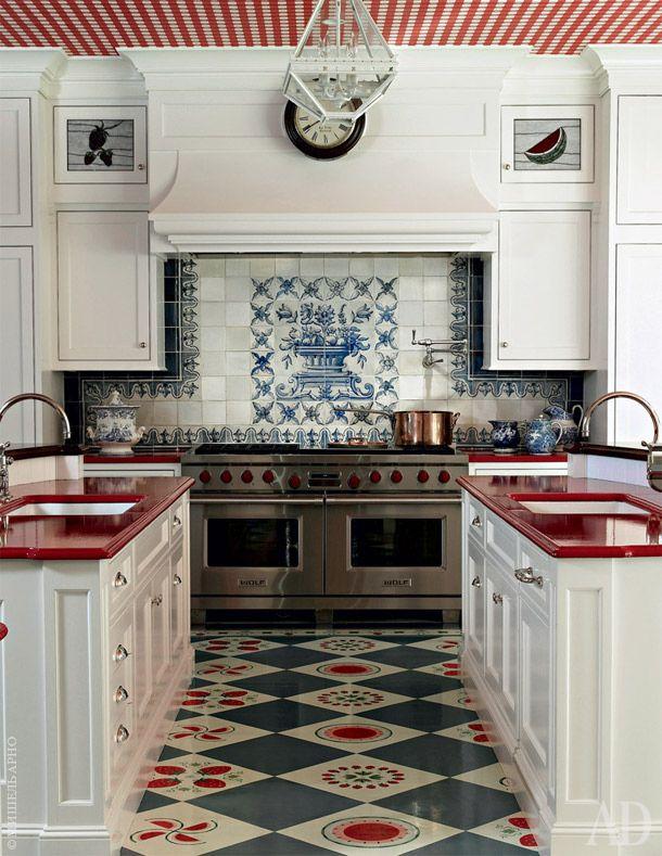 Дом для многодетной семьи в Вашингтоне | Kitchens, Space Kitchen And French  Kitchens