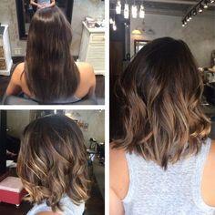 Модное калифорнийское мелирование волос (50 фото) — На ...