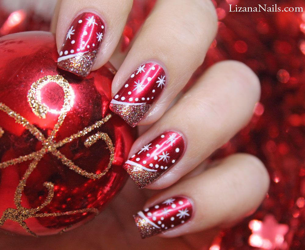 Nail Art - Merry Christmas | nails | Pinterest | Winter nails ...