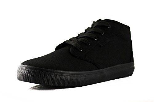 Townforst Cheryl Slip Resistant Black Sunbrella Mid Top Water Resistant Non Slip Waitress Shoes *** Click image to review more details. (This is an Amazon affiliate link)