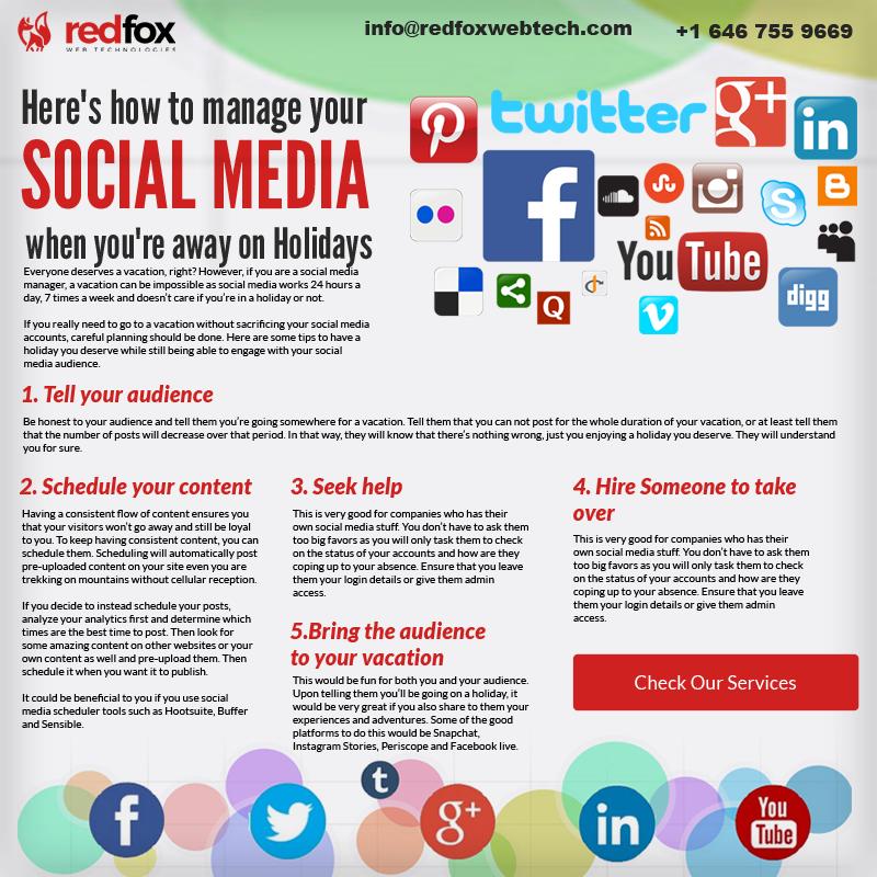 Redfoxwebtech Is A Leading Information Technology Company Providing App Development Branding Webdesign Social Digital Marketing Social Media Development