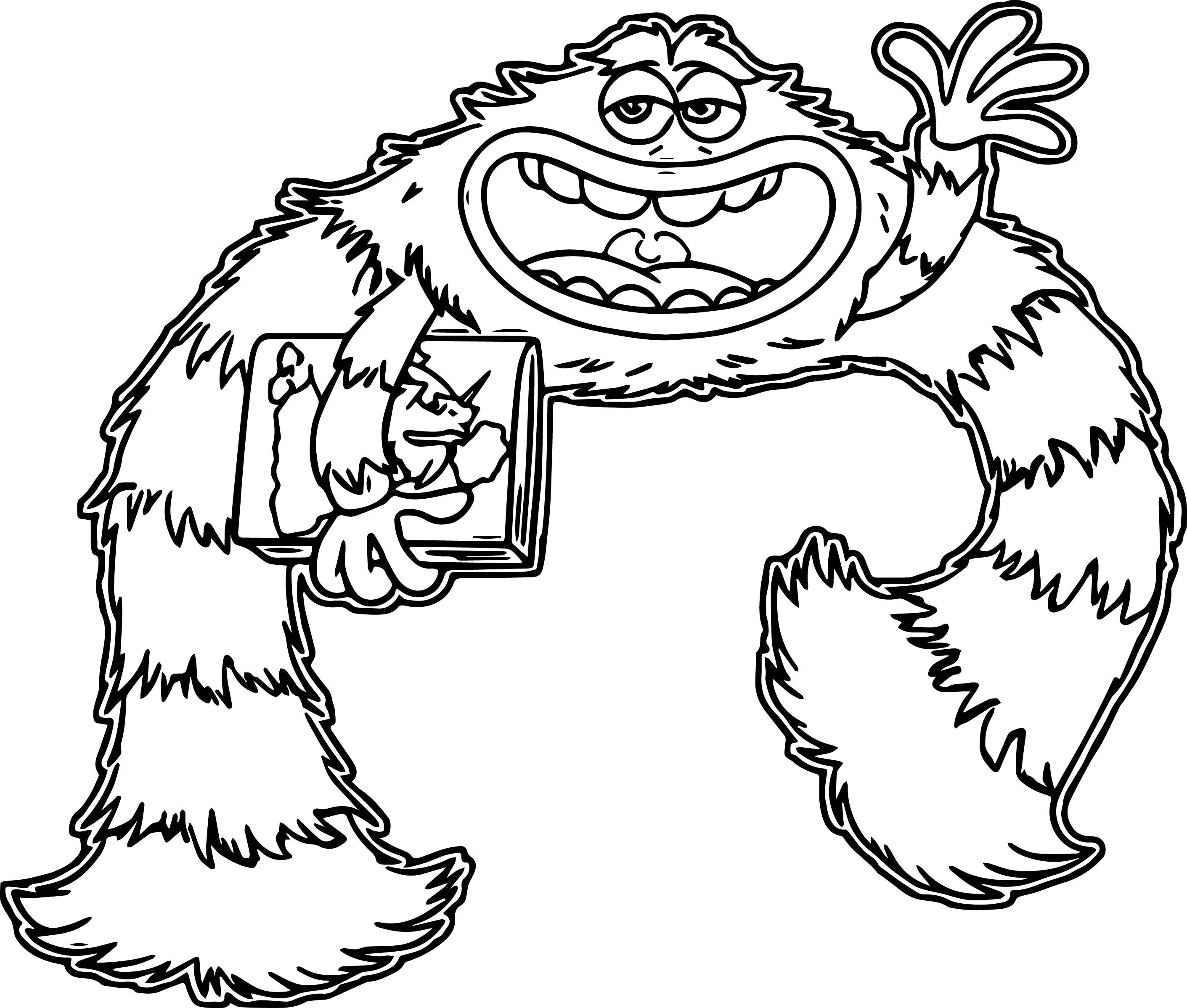 Monster University Coloring Pages