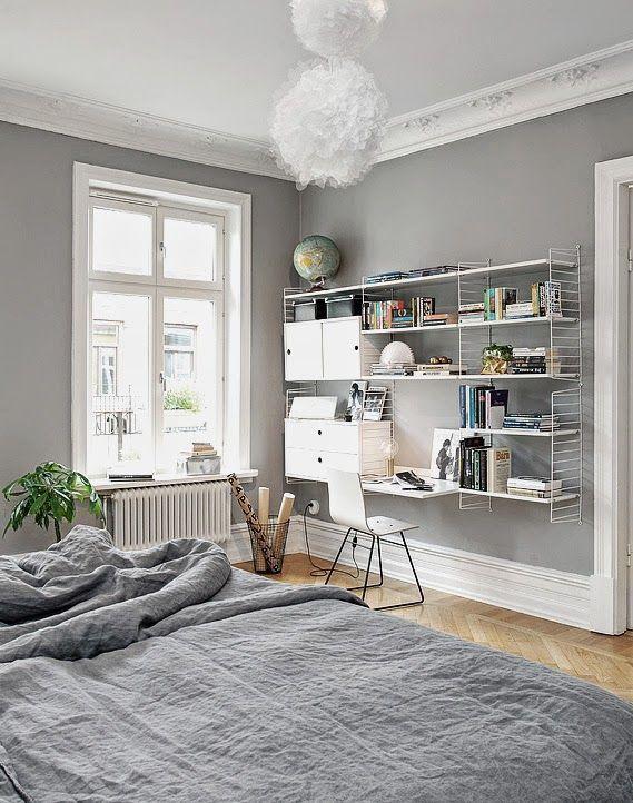 Arbeitsplätze mitten in der Wohnung Sweet Home Einrichtung - wohn schlafzimmer gestalten