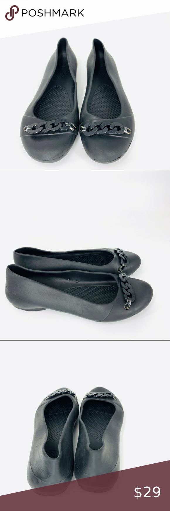 Crocs matte chain Gianna link ballet