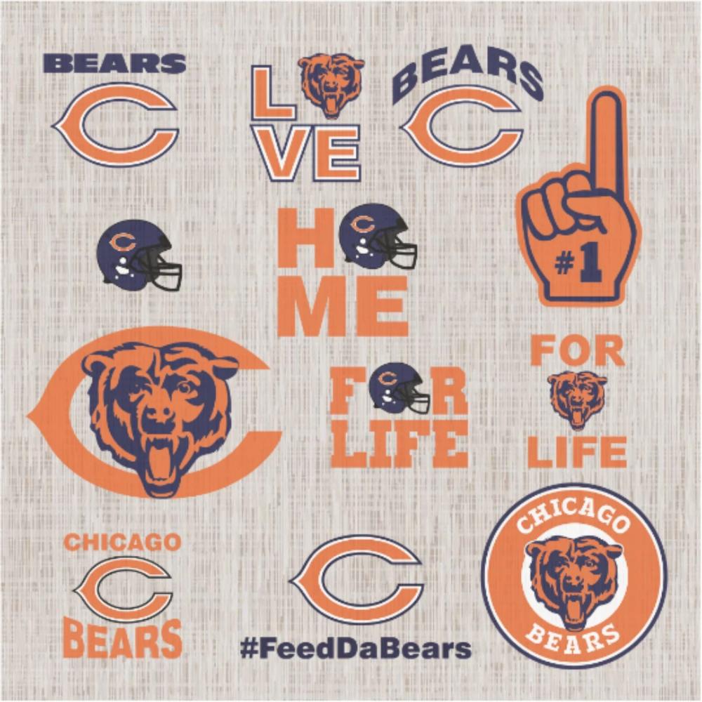 Chicago Bears Nfl Svg Football Svg File Football Logo Nfl Fabric Nfl Football Nfl Svg Football Chicago Bears Football Chicago Bears Sh In 2020 Chicago Bears Logo Chicago Bears Shirts Svg