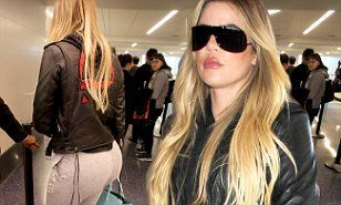 Khloe Kardashian sports fitted sweats and a motorcycle jacket at LAX -  Khloe Kardashian sports sweats and a motorcycle jacket | Daily Mail Online  - #BangtanBoys #fitted #jacket #kardashian #khloe #khloekardashian #LAX #motorcycle #selenagomez #SonictheHedgehog #sports #sweats #khloekardashian