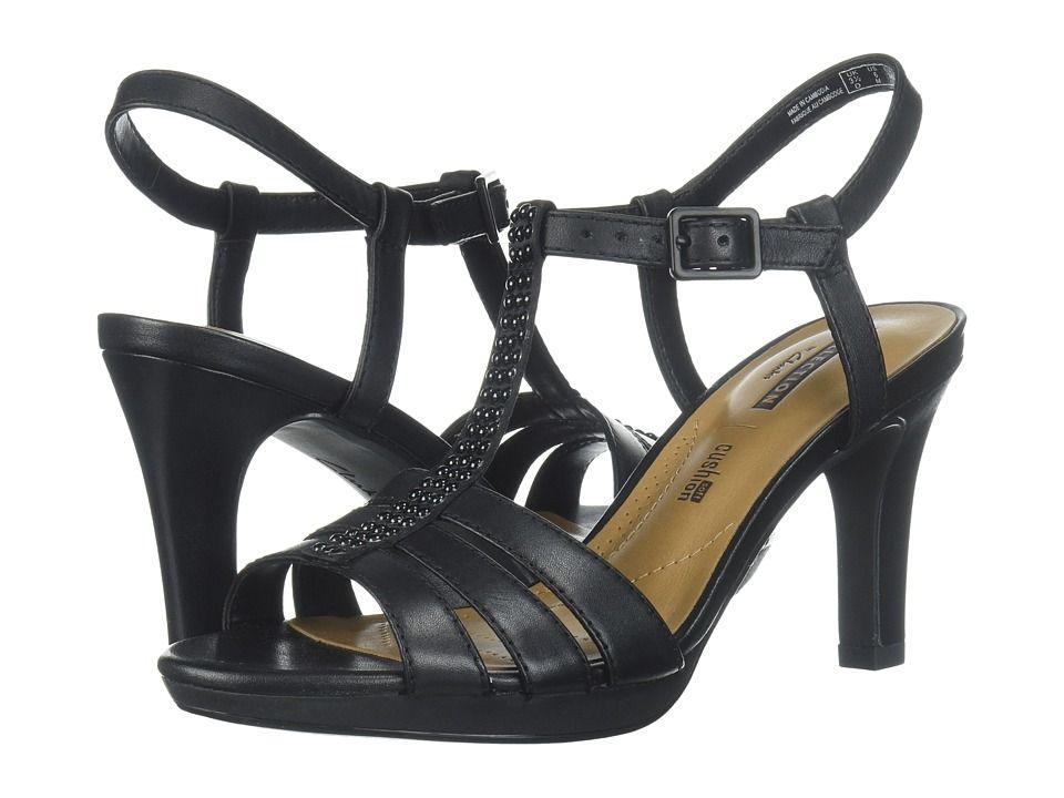 f0b075b6dcb Clarks Adriel Tevis. Clarks Adriel Tevis High Heels Black Textile