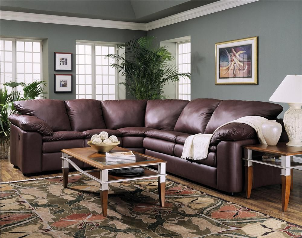 Legacy Reclining Loveseat And Sleeper Sectional By Klaussner
