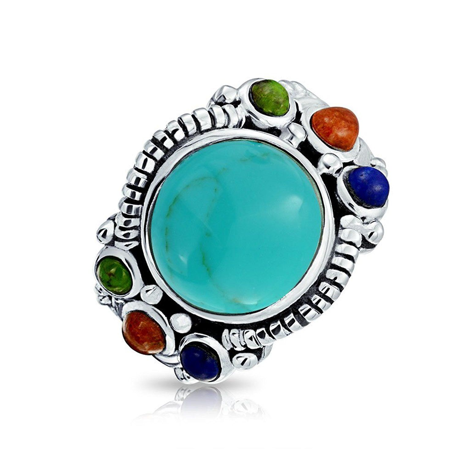 Turquoise stones - natural and synthetic