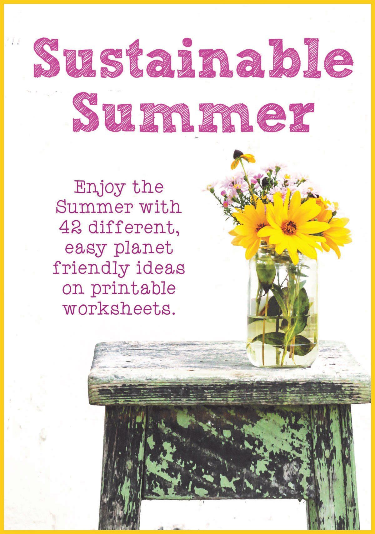 Sustainable Summer Worksheet Pack