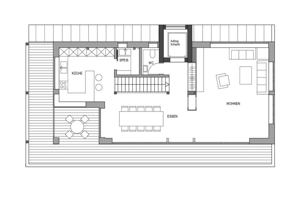 barrierefrei wohnen 22 schicke ideen von bau fritz f r ein barrierfreies haus fertighaus. Black Bedroom Furniture Sets. Home Design Ideas