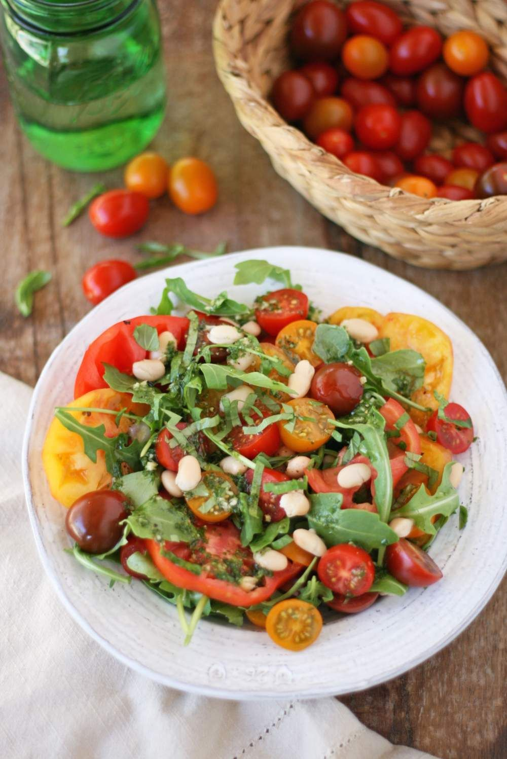 A Collection Of Unique Heirloom Veggie Salads -