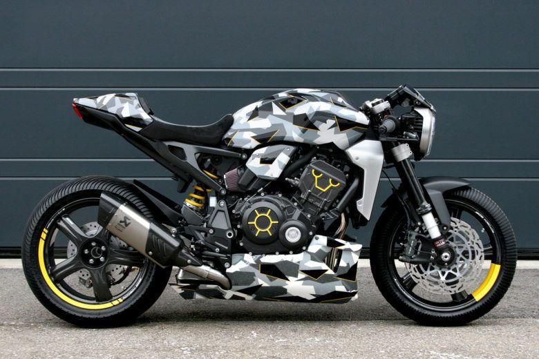 Honda CB1000R-adical by Gannet Design and Fuhrer Moto