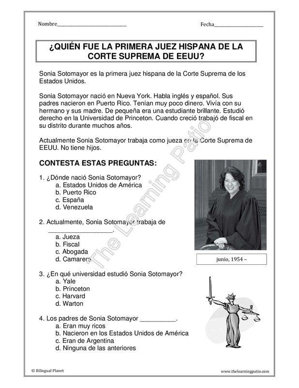 Texto narrativo: Biografías | tipologia textual lengua castellana ...