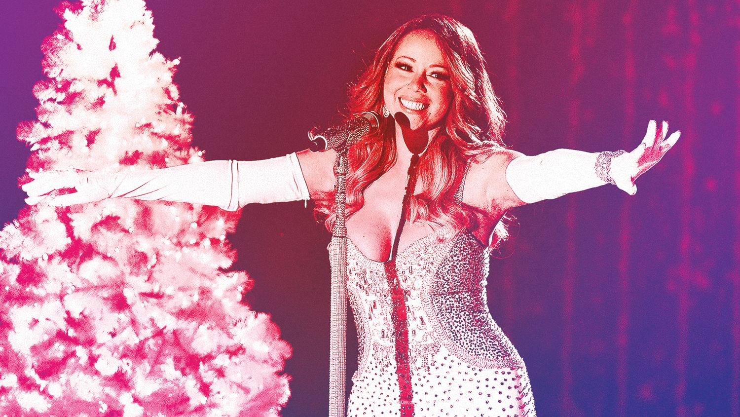 """When Mariah Carey released """"All I Want for Christmas Is"""