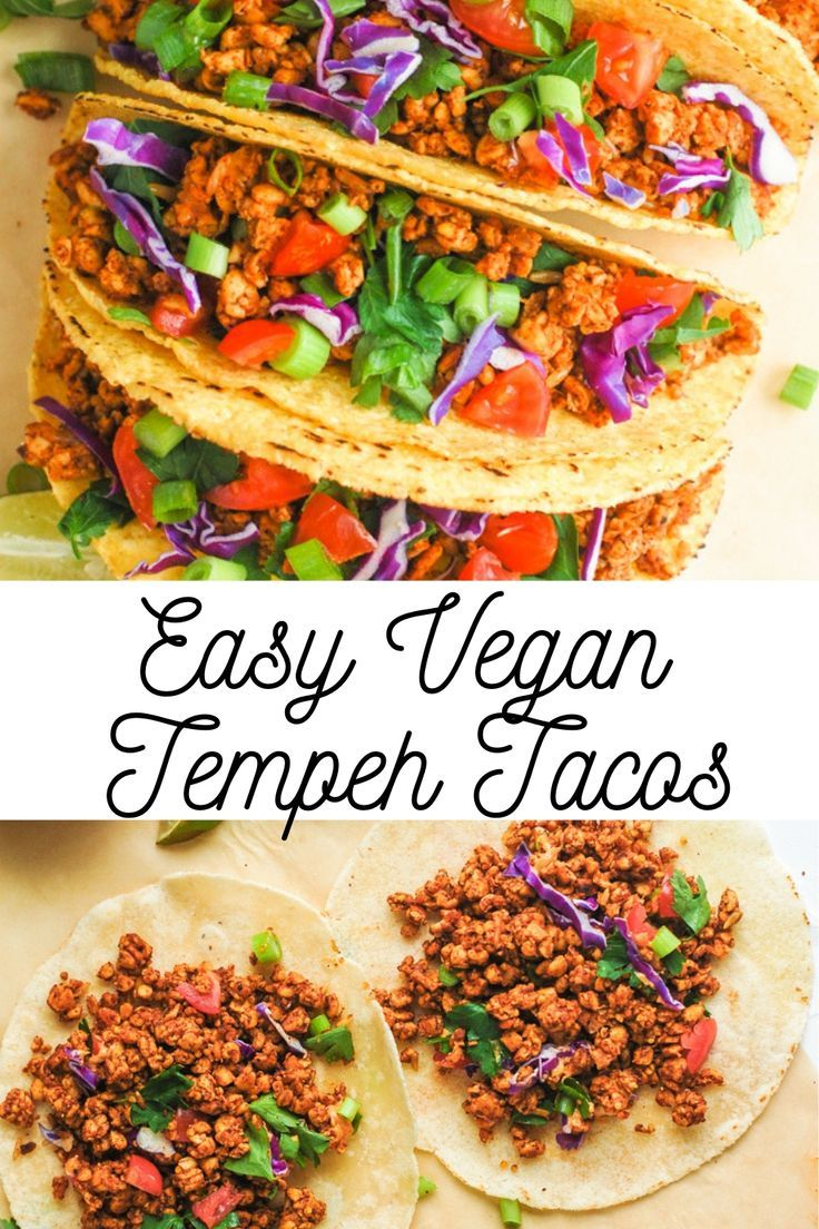 Photo of Vegan Tempeh Tacos | Erin Lives Whole