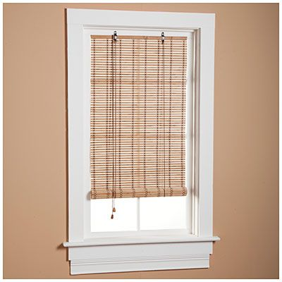 Bamboo Roll Up Blinds At Lots 36 W X 72 L 12