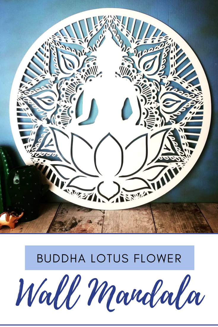 Beautiful buddha lotus flower wall hanging that brings a sense of beautiful buddha lotus flower wall hanging that brings a sense of peace and serene to the izmirmasajfo