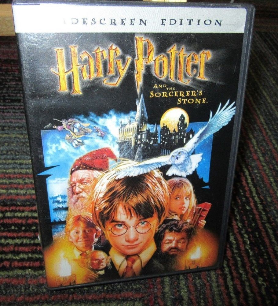 Harry Potter The Sorcerer S Stone Dvd Movie Widescreen Edition