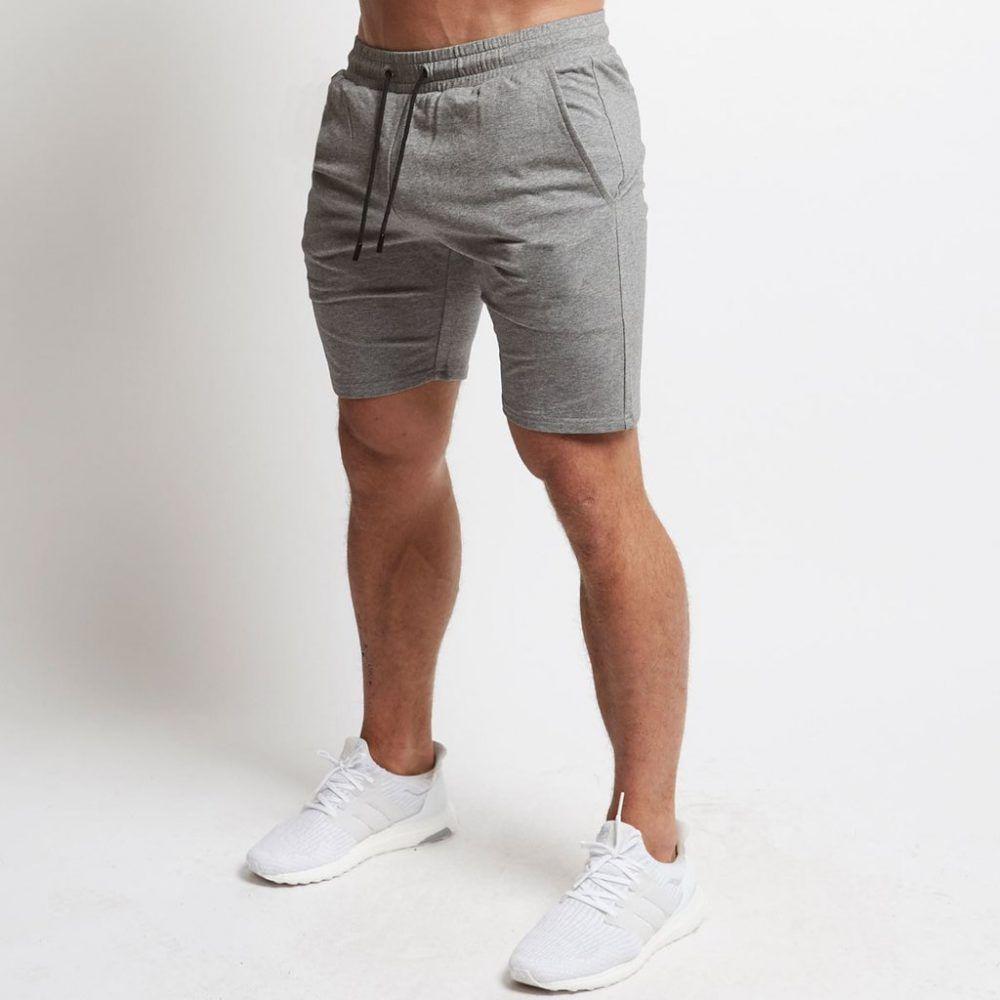 New Men/'s Nike Cotton Sweat Shorts Pants Sports Gym Summer Knee Length