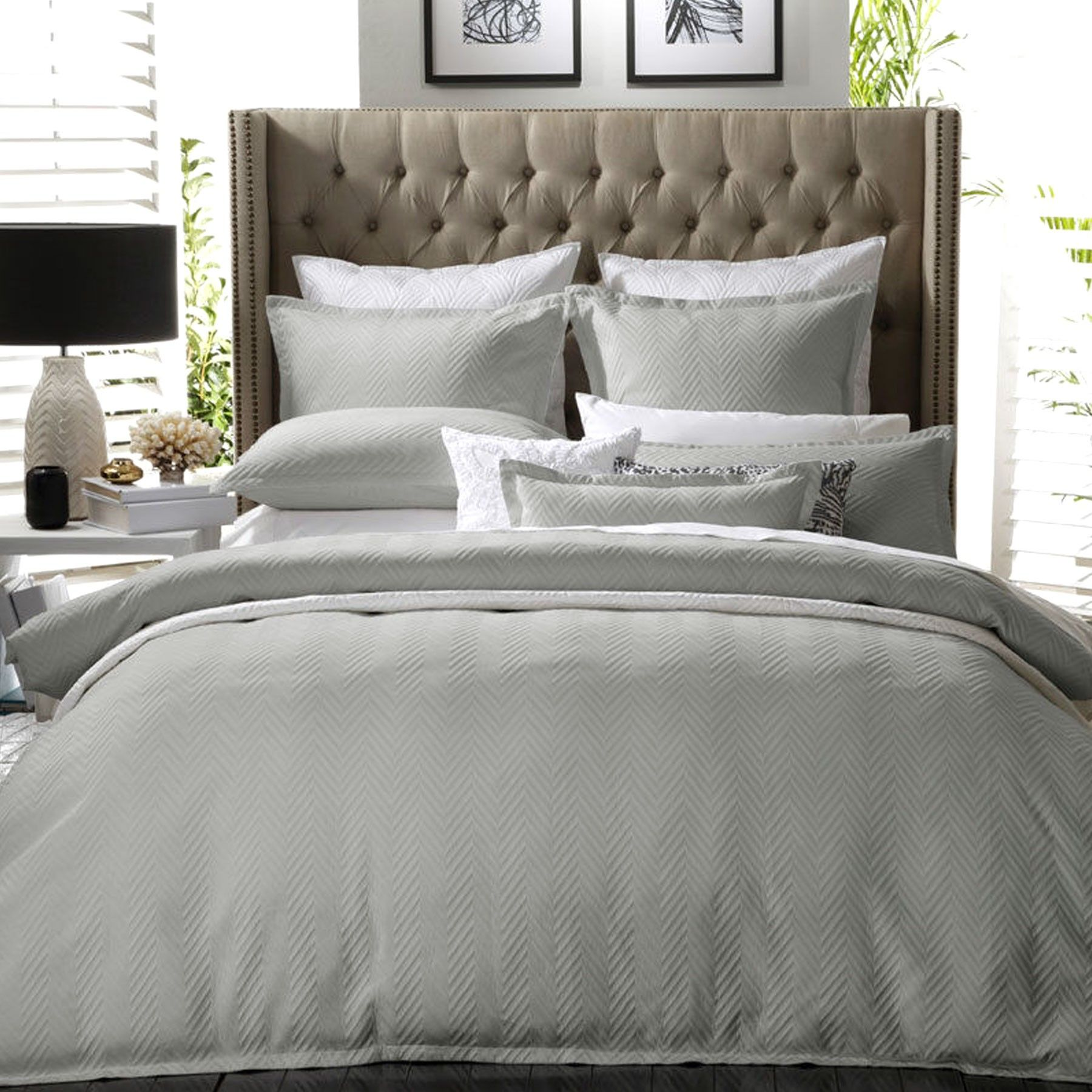 products cover cotton brushed country ludlow casa countrychecksilver check silver duvet home bela