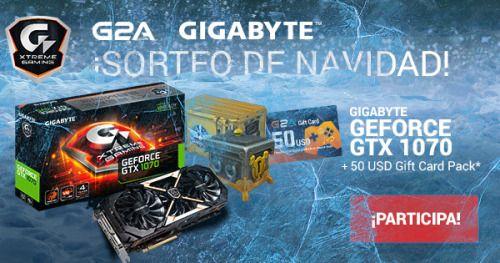 Win a Gigabyte 1070 and $50 G2A Gift Card - 2 Winners {WW}    IFTTT
