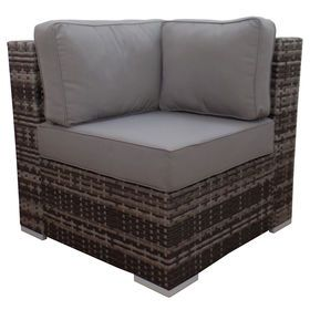 Pleasing Grey Weston Corner End Chair Patio Decor In 2019 Grey Pabps2019 Chair Design Images Pabps2019Com