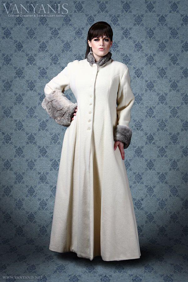 Ivory Italian #cashmere #coat by #Vanyanis | Inspiration: Coats ...