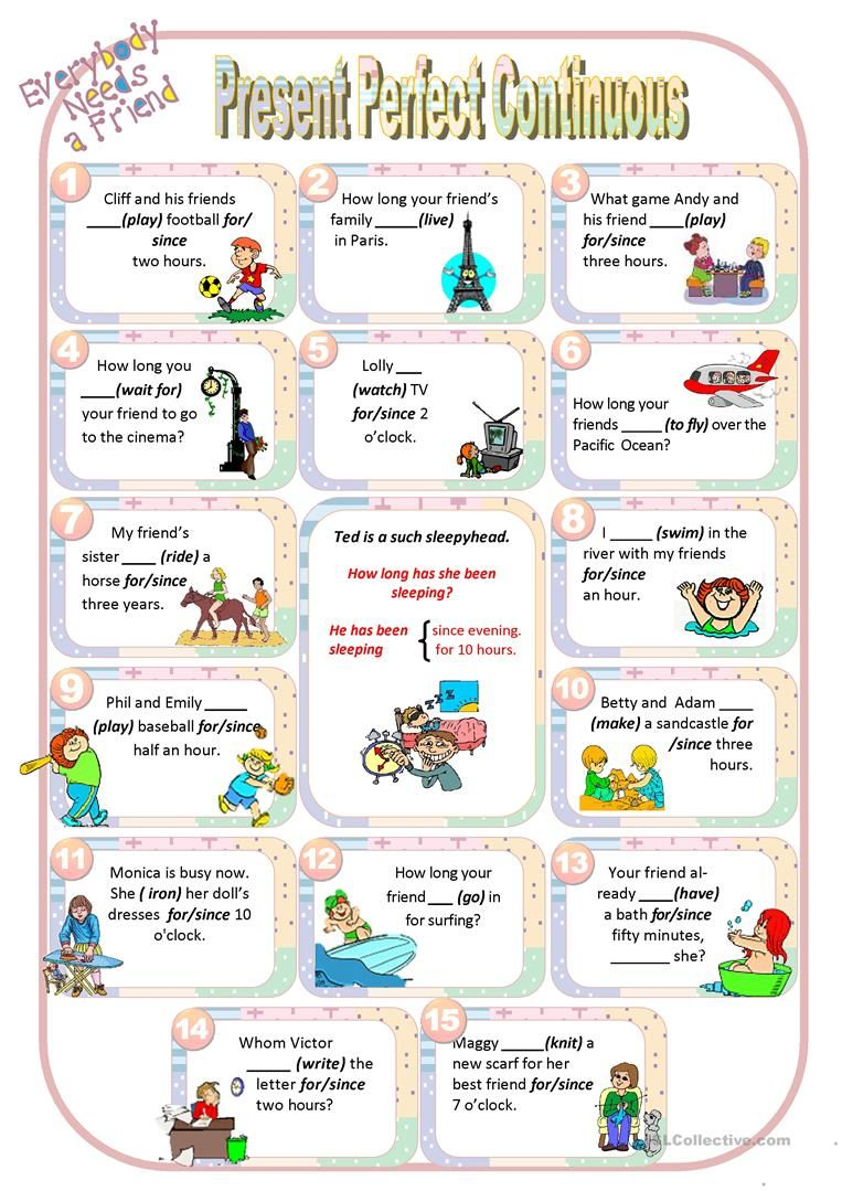 Friends Present Perfect Continuous Worksheet Free Esl Printable Worksheets Made By Teachers Present Perfect Teaching Grammar English Teaching Materials