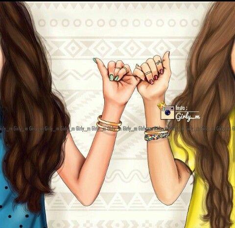 Best Friend Is A Promise Not A Label Best Friend Drawings