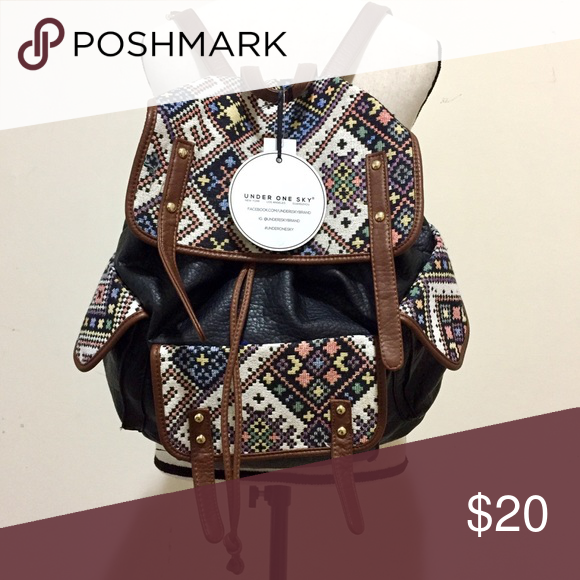 NWT Cute Boho Stylish Backpack This super cute retro bohemian ...