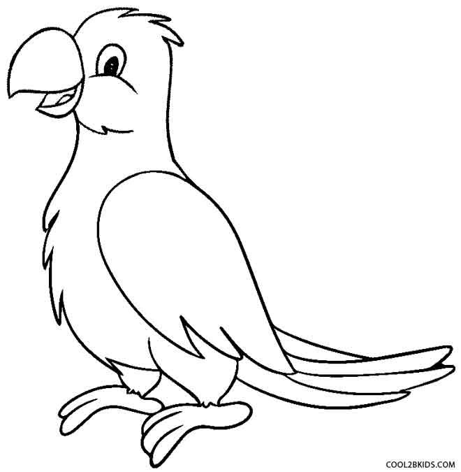 Parrot Coloring Pages Animal Coloring Books Animal Coloring Pages