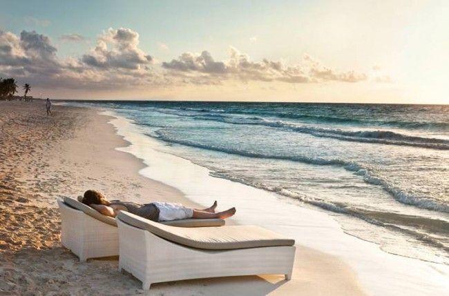 Perfekt Dedon Leaf Beach Chair XS | Contemporary Luxury Sun Loungers | Pinterest |  Beach Chairs, Garden Furniture And Leaves