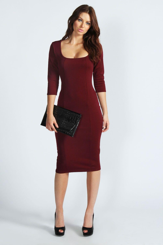 How to tight wear midi dress