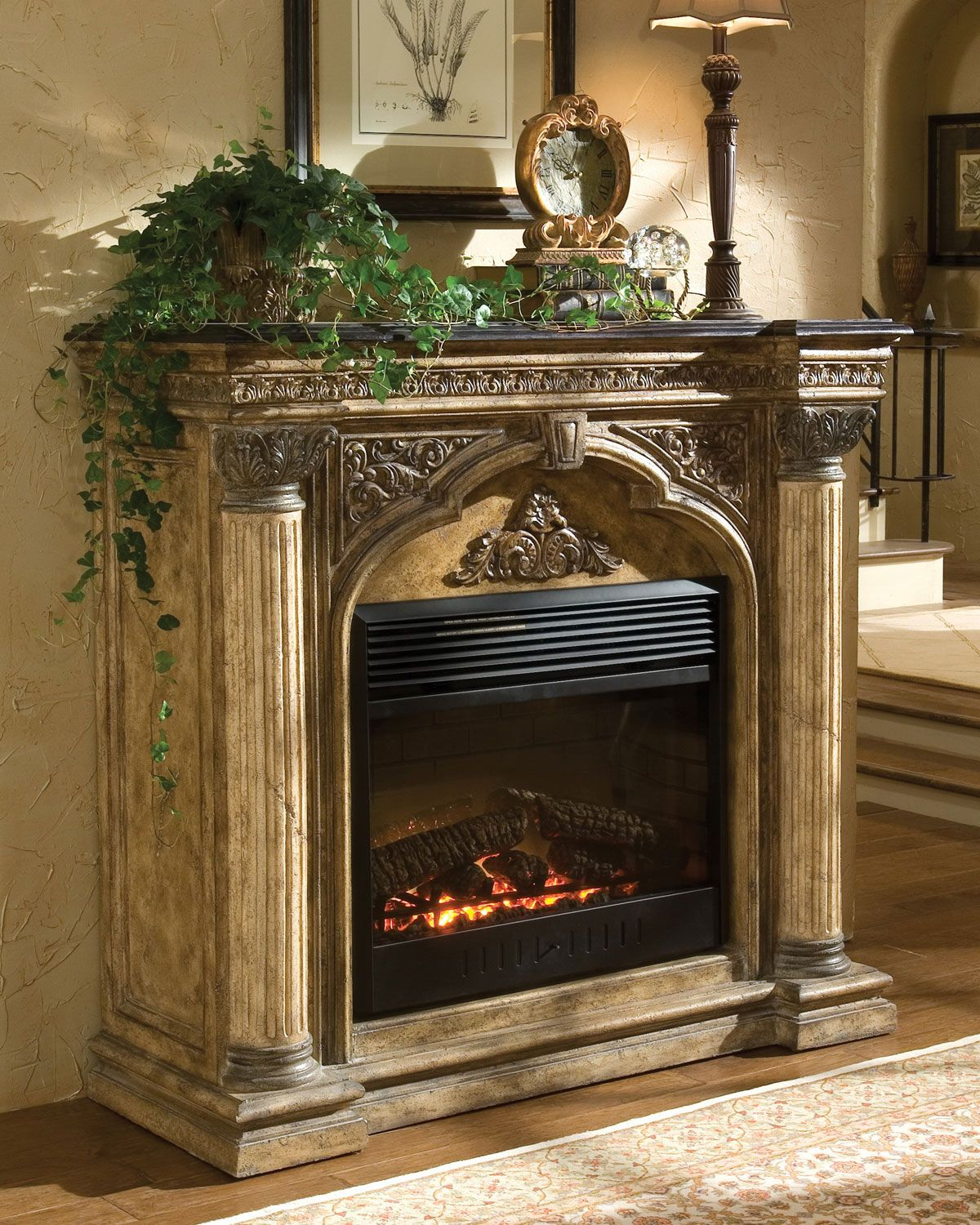 Quot Arch Quot Electric Fireplace By Ambella At Neiman Marcus