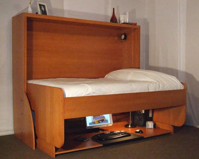 compact bedroom furniture. Space-Saving StudyBed For Small Teen Room | Kidsomania Compact Bedroom Furniture