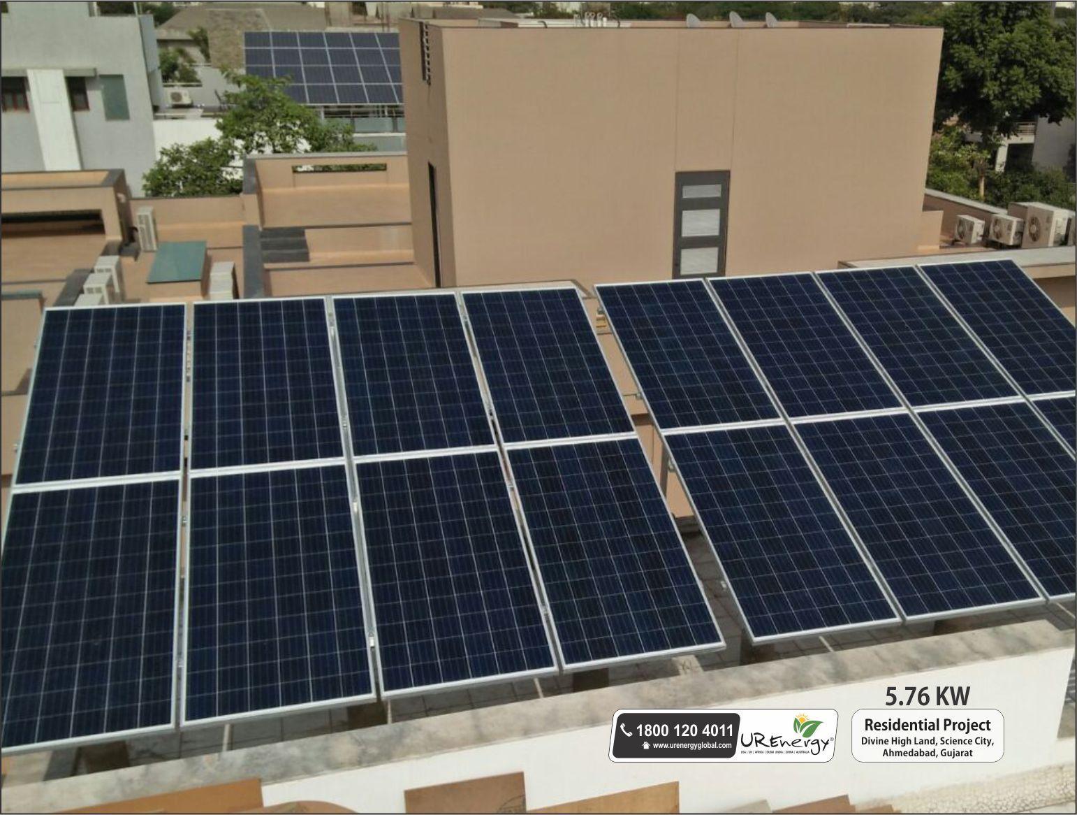 Rooftop Solar Panel Inverters Water Pump Solar Epc Gujarat India U R Energy Solar Solar Panels Solar Projects